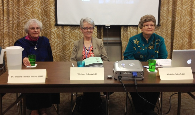 The Panel at Spirituality and Women